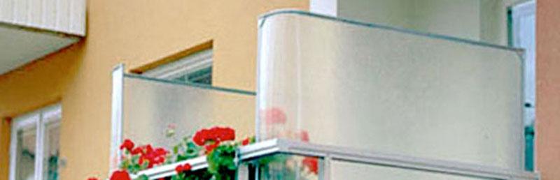 Balkongskydd-glasfiber