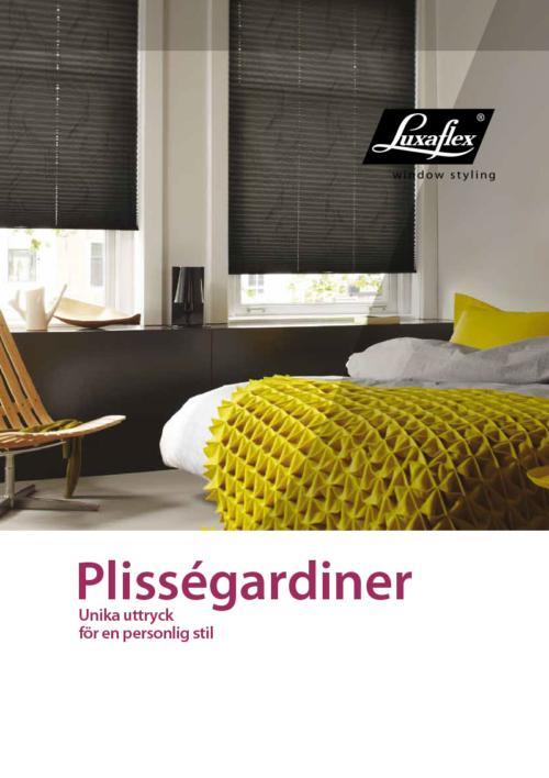 Luxaflex Plisségardiner