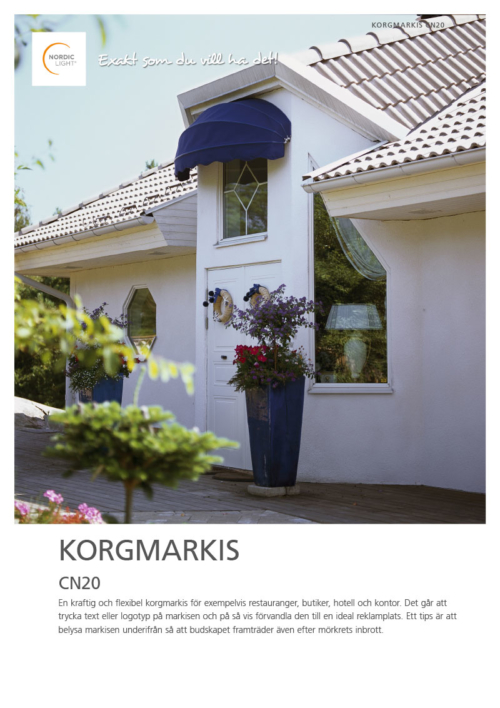 Nordic Light Korgmarkis CN20