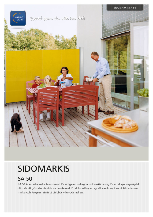Nordic Light Sidomarkis SA50
