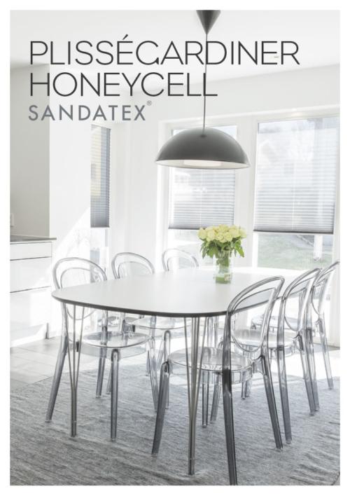 Sandatex Plisségardiner Honeycell