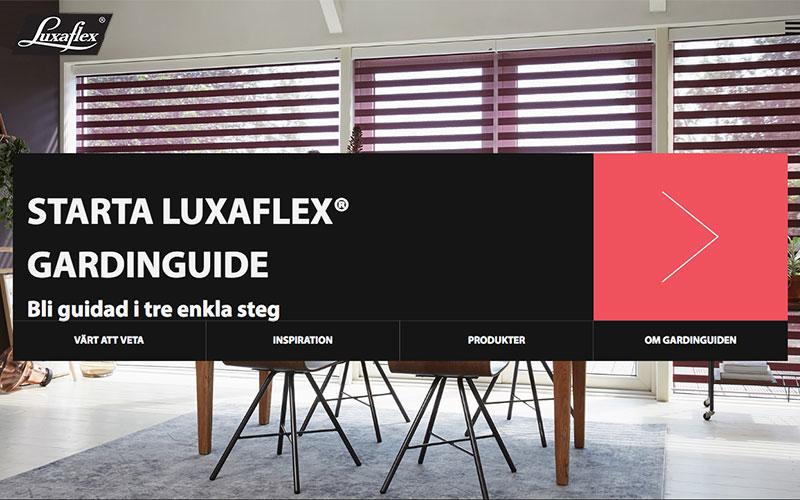 Luxaflex gardinguide