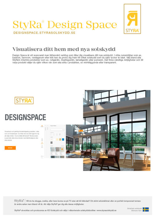 StyRa Design Space